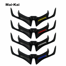 MKLIGHTECH For YAMAHA YZF-R15 V3.0 2017-2019 Motorcycle Front Fairing Aerodynamic Winglets ABS Plastic Cover Protection Guards