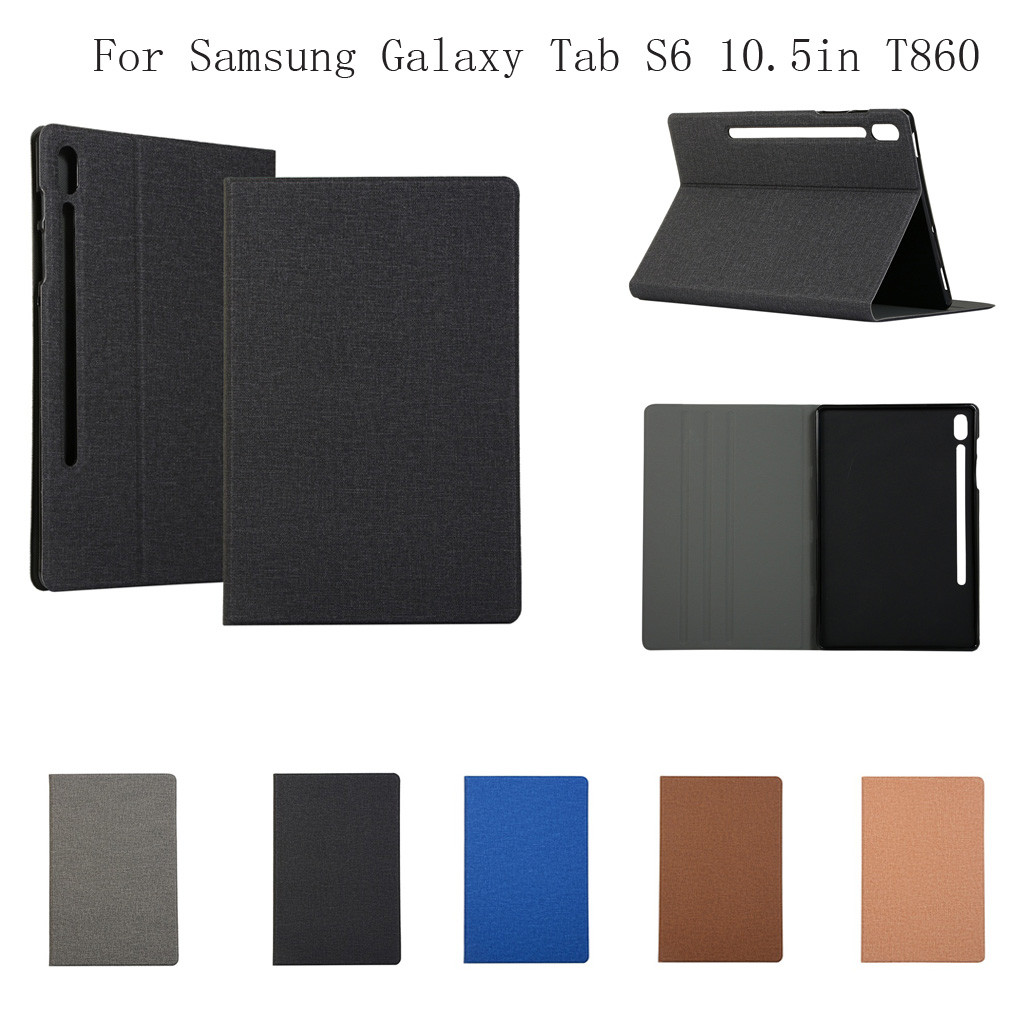 2019 NEW Protective Case For Samsung Galaxy Tab S6 10.5In T860 T865 Soft Clear TPU Shock-Proof Case Cover Dropshipping