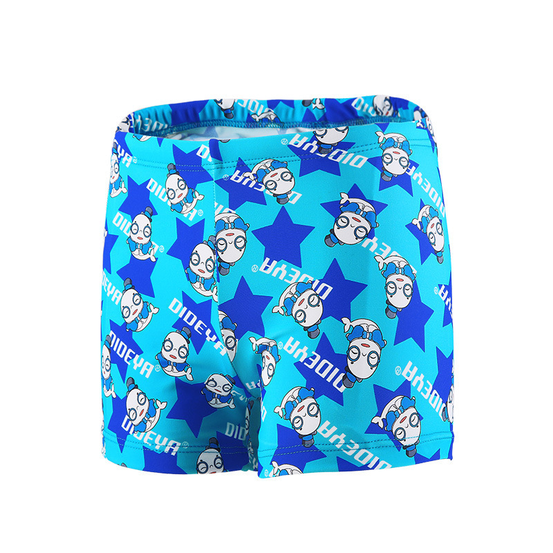 BOY'S CHILDREN'S Swimming Trunks Cartoon Printed Boxer Infant Swimming Trunks Quick-Dry CHILDREN'S Swimsuit Set CHILDREN'S Swims
