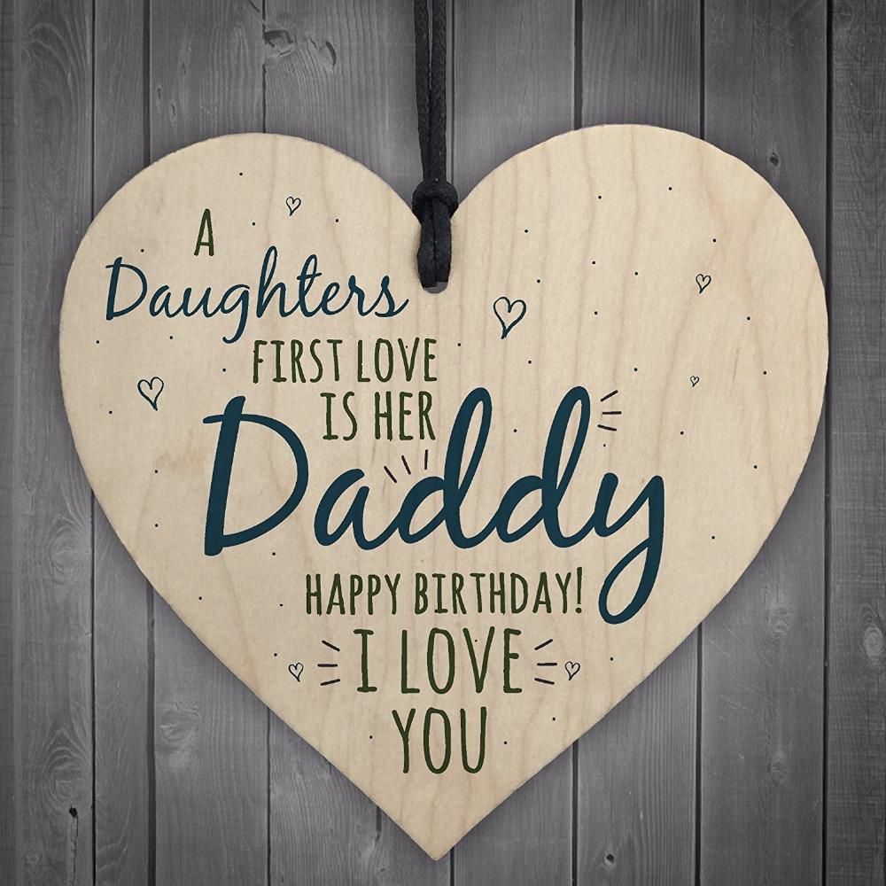 4-Meijiafei-First-Love-Daddy-Dad-Wooden-Heart-Happy-Birthday-Card-Sign-Son-Daughter-Baby-Thank-You