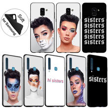 IYICAO James Charles X Blank Canvas Soft Silicone Cover Case for Samsung Galaxy J8 J7 Duo J6 J4 Plus A2 Core Prime 2018 Cover(China)