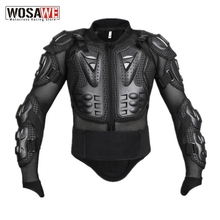 WOSAWE Motorcycle Jacket Snowboard Racing Jacket Body Armor Back Protection Moto Motocross Off road Clothing Protective Gear