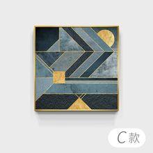 Современная абстрактная картина маслом Печать на холсте Картина