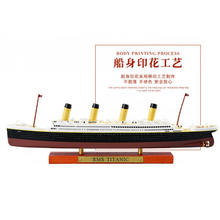 1:1250 rms titanic lusitania mauretania normandia britannio frança navio de cruzeiro olímpico modelo atlas diecast barco brinquedos collectiabl