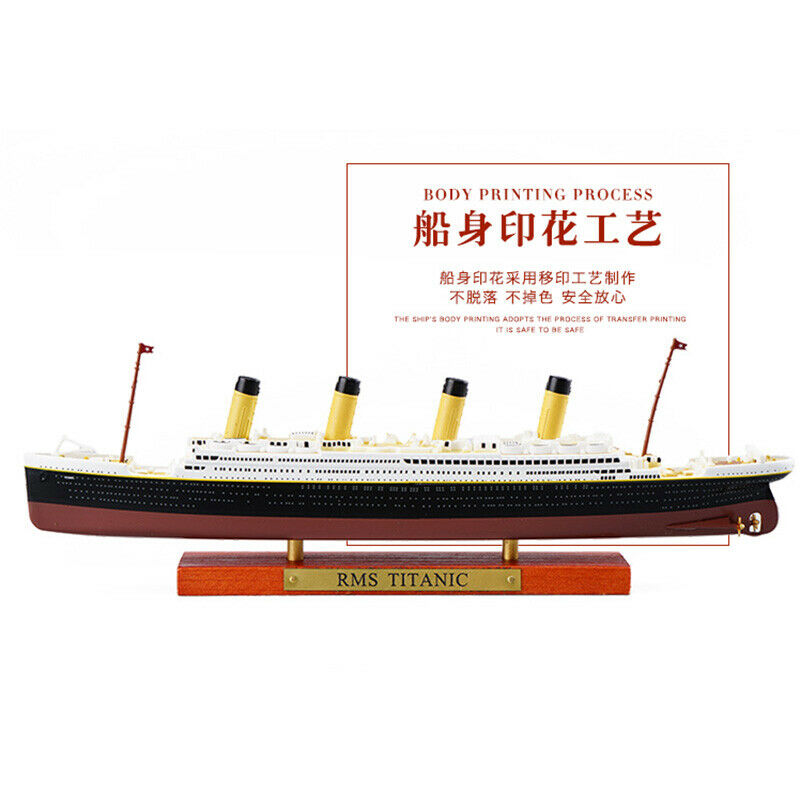 11250 rms titanic lusitania mauretania normandia britannio frança navio de cruzeiro olímpico modelo atlas diecast barco brinquedos collectiabl