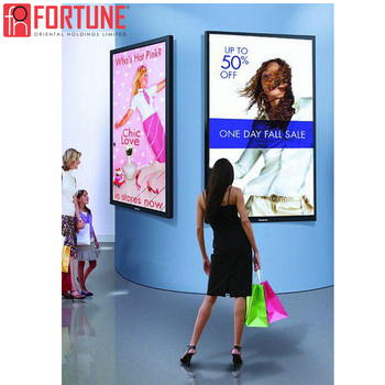 Clothing Display Poster Frame Indoor Restaurant Menu Advertising Light Box LED Light Boxes Commercial Show Advertising Light Box