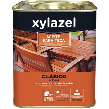 Aceite para teca Xylazel 750 ml Miel