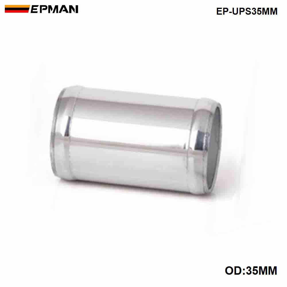 Tubo de alumínio reto od 22mm/30mm/35mm l = 76mm do turbo da entrada do intercooler de epman