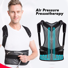 Brace Support Belt Air Pressure Pressotherapy Inflatable Posture Corrector Clavicle Spine Back Lumbar Posture Correction Humpbac