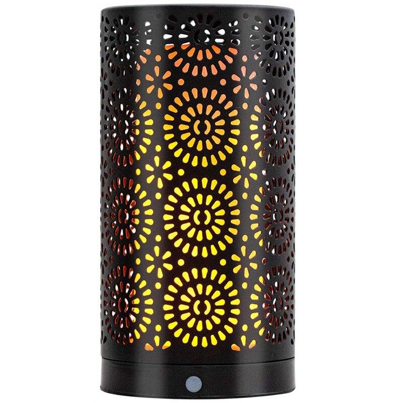 Işıklar ve Aydınlatma'ten Gece Lambaları'de ABSS alev etkisi led ışık  titrek ampuller  Usb şarj edilebilir masa lambası  zaman ayarı yerçekimi sensörü gece ışıkları  Atmo title=