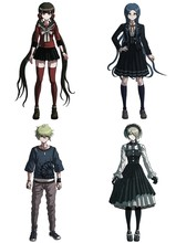 Hot Giapponese Danganronpa V3: Uccidere Harmony Acrilico Cosplay Decor Stand Figura di Halloween Regali per Gli Amici 1pcs(China)