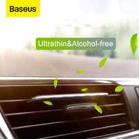 Baseus ambientador de ar do carro ambientador para carro automático ventilação de ar perfume condicionador de ar clipe difusor aromaterapia sólido perfume