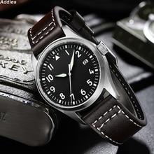 Divier Watch 200m Waterproof Mens Wristwatch Leather Strap NH35 Automatic Mechan