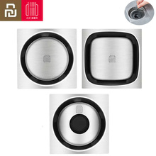 Youpin DABAI Floor Drain Insect Deodorant Stainless Steel Swivel Drain Anti Blocking Filter Dining Room Kitchen Bathroom