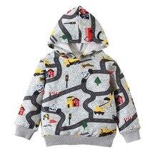 Hoodie Sweatshirt Kids Clothes Girls Boys Winter Children's Cartoon Autumn Casual