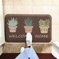Кухня кактус печатные дверные маты Противоскользящий коврик для прихожей ванная комната Гостиная Спальня ковер коврики для дома половик п...