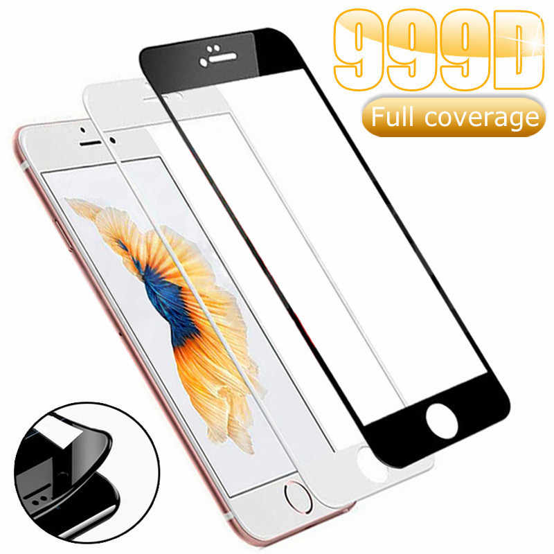 999D Schutz Gehärtetem Glas Für iPhone 7 8 6 6S Plus SE 2020 Glas Screen Protector iPhone X XS 11 Pro Xs Max XR Glas Film