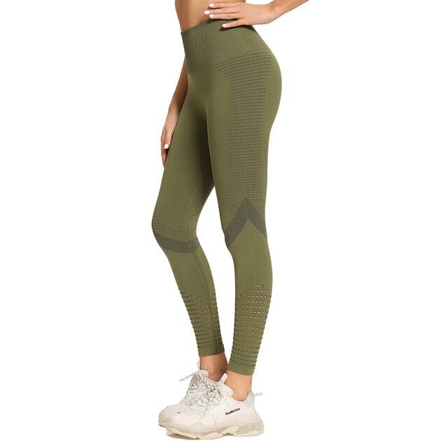 High waist seamless leggings for w