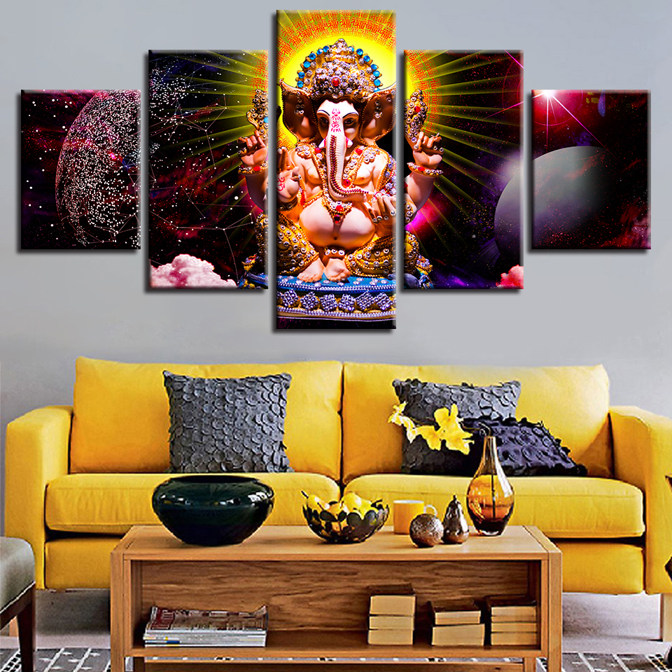 H1f34d616da6948dcaf7aa754a6f0a4aba Canvas HD Prints Paintings Wall Art Home Decor 5 Pieces Welcome Dropshipping Wholesale We Can Provide All The Pictures