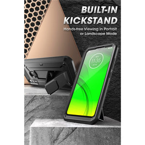 Image 2 - SUPCASE For Moto E6 Plus Case (2019 Release) UB Pro Full Body Rugged Holster Protective Back Case with Built in Screen Protector