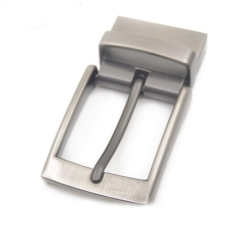40mm Pin Belt Buckle Men's Metal Clip Buckle DIY Leather Craft Jeans Accessories Supply For 3.8cm-3.9cm Wide Belt