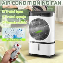 Portable Air Conditioner Conditioning Fan Humidifier Purifier 220V Home Electric Cooler Ventilator Cooling Fan 10 refrigerant