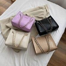 Femmes grande capacité sacs à main en cuir PU pierre modèle épaule sacs de messager mode exquis sac à provisions