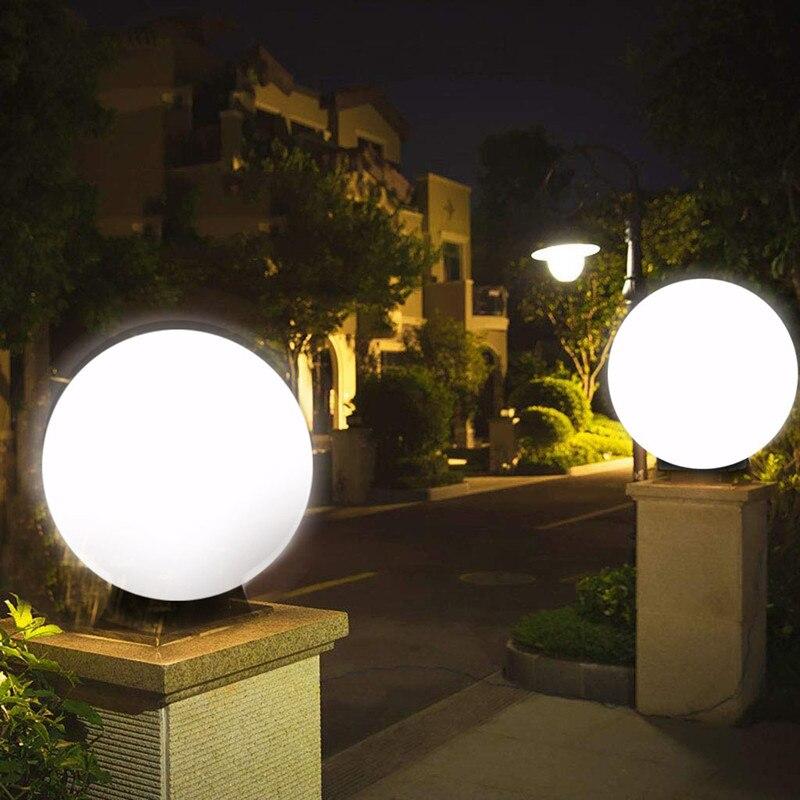 Светодиодный освещение крышки столба на солнечной батарее, наружная колонна, фара, столб, освещение, столб для палубы, шлюз, патио или украше