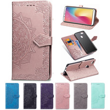 Wallet 3D Flower Case for Xiaomi Redmi 3X 3S Note 3 Pro 2 1 Lte Flip Phone Capa Smart Back Cover Kickstand(China)