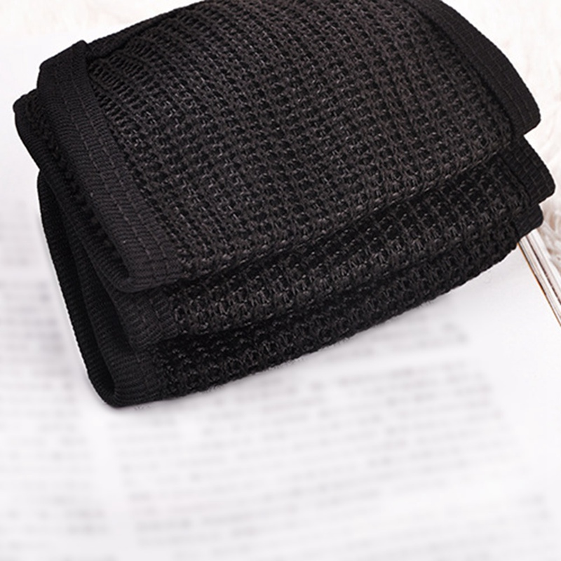 Cotton Yarn Mouth Face Mask Cycling Wearing Windproof Anti Dust Anti-pollution Respirator Black Respirator