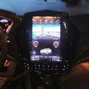 Image 2 - Para cadillac srx 2008 + android 10.0 tesla rádio estilo vertical unidade central de navegação gps do carro multimídia player rádio gravador fita