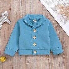 Одежда для малышей, Детское пальто, осенняя Плотная хлопковая Повседневная Верхняя одежда с принтом для маленьких мальчиков и девочек