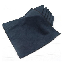 5pcs/set 30x40cm Black Car Care Polishing Wash Towels Microfibers Car Detailing Cleaning Soft Cloths Towel For Car Home Window