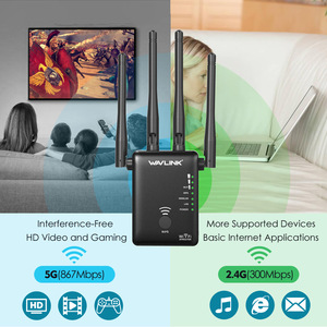 Image 5 - Wavlink WiFi Range Extender 1200MbpsสัญญาณBooster 2.4G + 5Ghz Dual Band Wifiเครื่องขยายเสียงRepeater/wireless Access Point