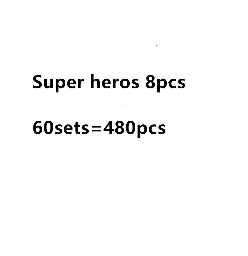 480 Pcs The Avengers Marvel Super Heroes Series hulk s Action Building Block Toys New Kids
