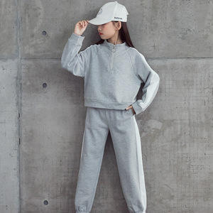 Image 5 - High Quality New Spring Fall Teens Girls Sports Set Female Kids Casual Sweater Suit Children Clothes Teenagers Tracksuits CA578