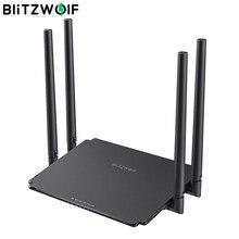 BlitzWolf BW-NET1 routeur sans fil double bande 1200Mbps 512MB puce supérieure sans fil WiFi Signal Booster répéteur routeur réseau
