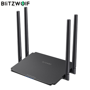 BlitzWolf BW-NET1 Dual Band Wireless Router 1200Mbps 512MB Superior Chip Wireless WiFi Signal Booster Repeater Networking Router
