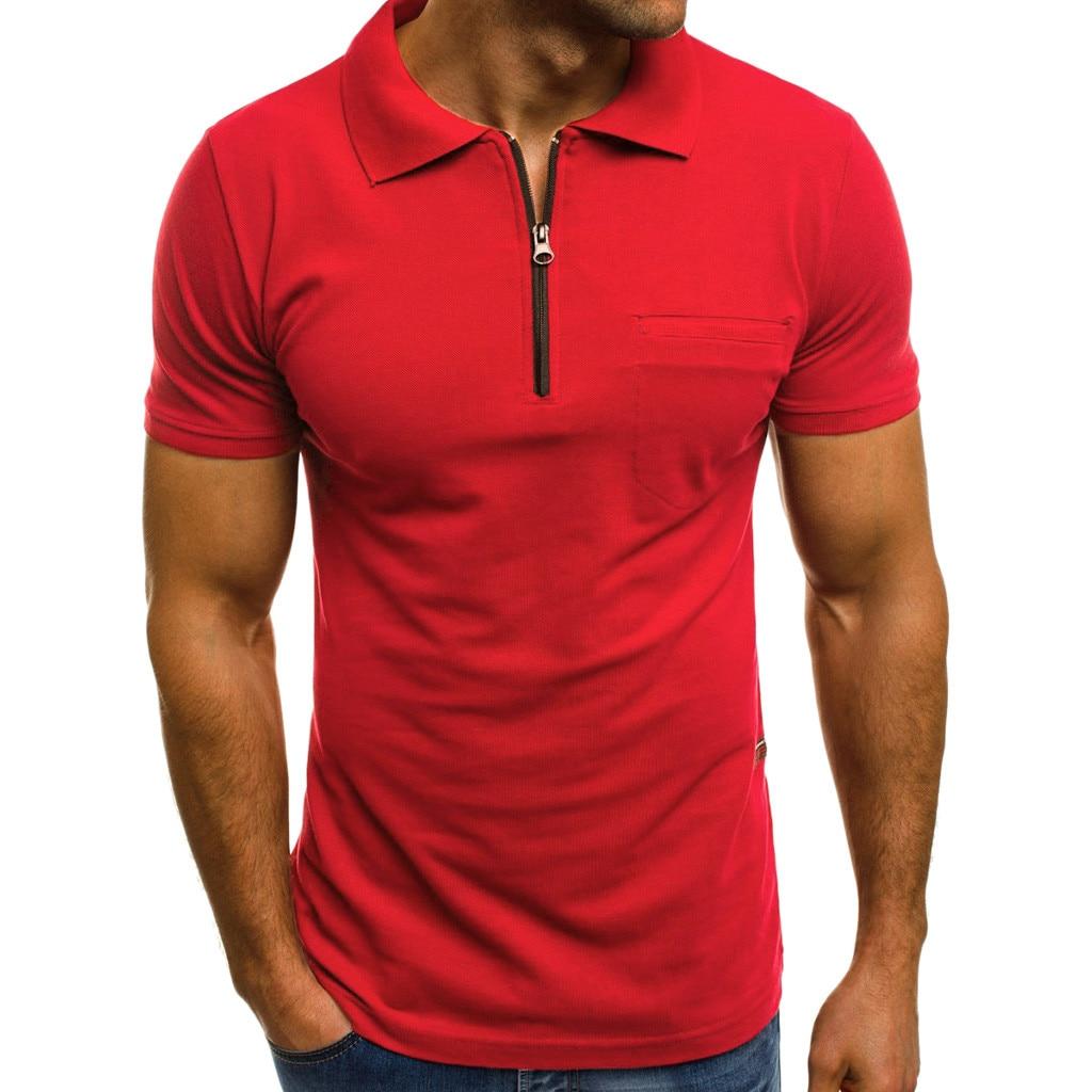 t shirt men short sleeve Fashion Personality Men 39 s Casual Slim Short Sleeve Pockets T Shirt Top Blouse men t shirt cotton in T Shirts from Men 39 s Clothing