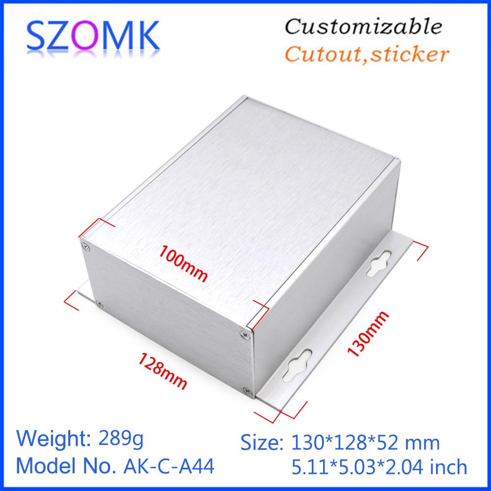 szomk aluminum enclosure for electronics device housing for pcb design audio aluminum control box enclosure casing (8)