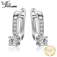 JewelryPalace Cubic Zirconia Hoop ต่างหู 925 (China)