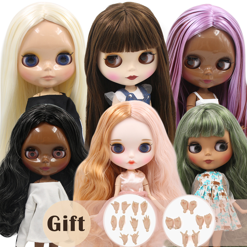 ICY Factory Blyth Doll Customized Joint Doll 30cm Suitable For Dress Up By Yourself DIY Change 1/6 BJD Toy Special Price