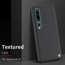Coque pour xiaomi mi 9 /mi9 explorer xiaomi mi 10 mi10 Pro housse NILLKIN texturé Nylon fibre étui couverture arrière durable antidérapant