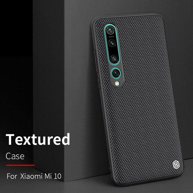 case for xiaomi mi 9 /mi9 Explore xiaomi mi 10 mi10 Pro cover case NILLKIN Textured Nylon fiber case back cover durable non slip