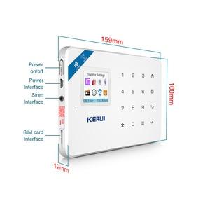 Image 5 - KERUI W18 ไร้สายWiFi GSM Home Security Alarm SystemสัญญาณกันขโมยชุดAndroid Ios APPควบคุมรีโมทคอนโทรล