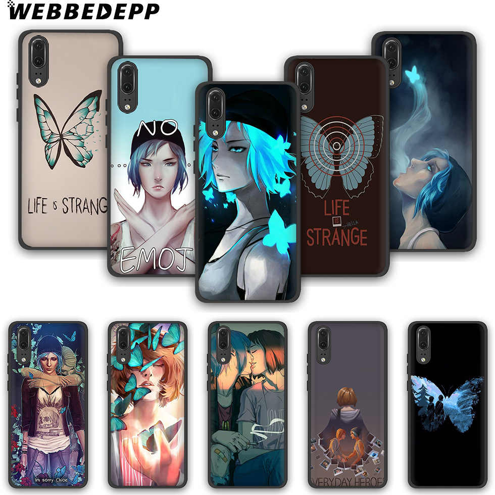 WEBBEDEPP Life Is Strange Fashion Soft Phone Case for Huawei P10 P20 P30 Lite Pro Y6 Y7 Prime 2018 Y9 2019