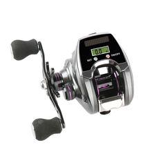 Рыболовная катушка для заброса приманки с счетчиком лески 6