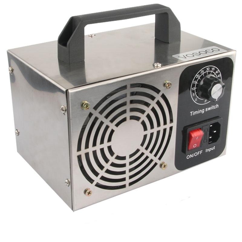 Ozone Generator 28g 24g 10g Ozone Machine Air Purifier 220/110V Air Purifier Metal Deodorization Sterilization Equipment
