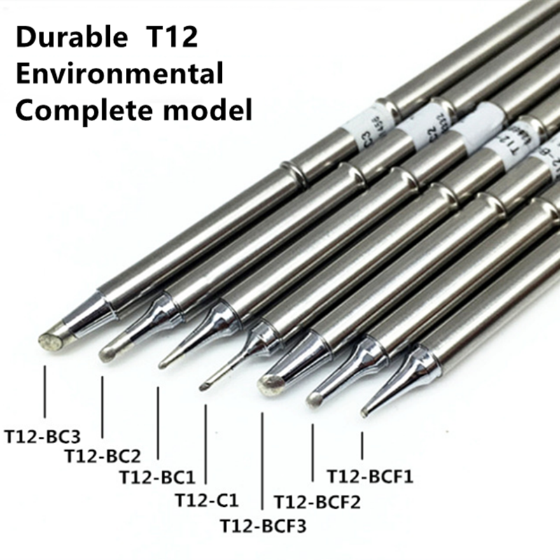 High Quality  Soldering T12 Tip ILS BC2  T12 Soldering Iron Tip For  FX951 FX-952 Soldering Station