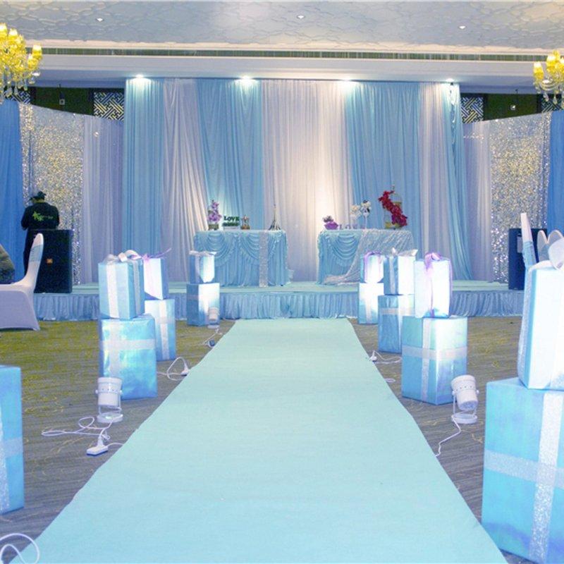 1 M X 10 M Floor White Carpet Rugs For Wedding Banquet, Films, Festival, Evening Celebrations, Awards, Events, Carpet Decoration